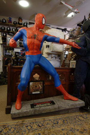spiderman cartoon arts united kingdom british