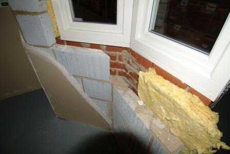 cutaway brick block wall construction building industry industrial uk business commerce united kingdom british