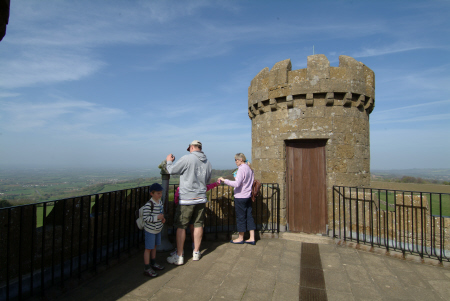viewing area broadway tower worcestershire midlands towns england english gloucestershire angleterre inghilterra inglaterra united kingdom british
