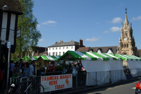 farmers market stratford avon warwickshire midlands england english angleterre inghilterra inglaterra united kingdom british