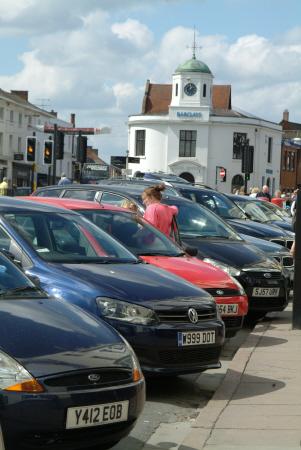 parking stratford avon warwickshire midlands england english angleterre inghilterra inglaterra united kingdom british