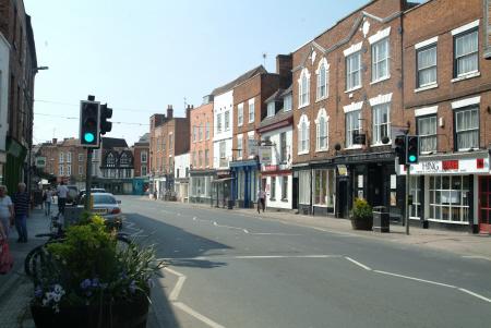 barton street tewkesbury gloucestershire midlands towns england english angleterre inghilterra inglaterra united kingdom british