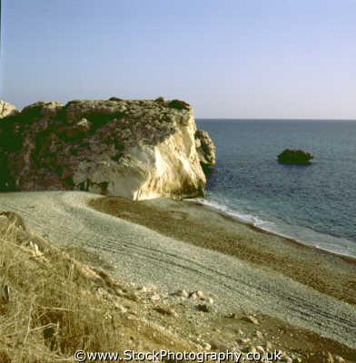 aphrodites rock geology geological science misc. legend greek mythology cyprus europe european cypriot