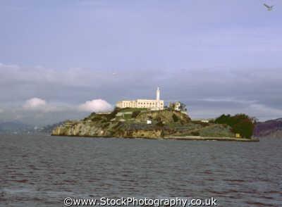 alcatraz island san francisco california american yankee travel penal imprison incarcerate franciscan californian usa united states america