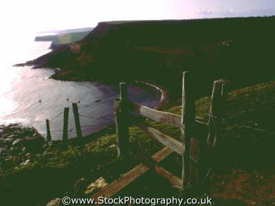 stile coastline countryside rural environmental uk footpath dorset england english angleterre inghilterra inglaterra united kingdom british