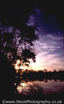 sunset trees lake sunsets dusk travel twilight nightfall england english angleterre inghilterra inglaterra united kingdom british