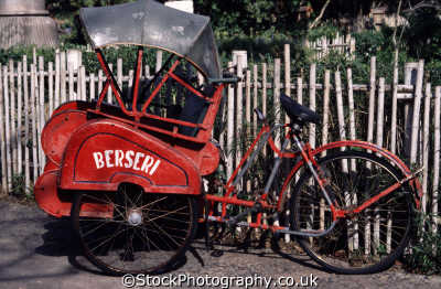 rickshaw bicycles cycling cyclists bikes transport transportation uk cycles pedals handlebar orlando florida usa united states america american