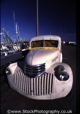 old american van classic cars misc. vintage monterey california californian usa united states america
