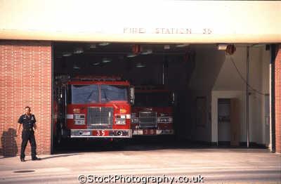 station 35 fireman engine emergency services american yankee travel backdraft la los angeles california californian usa united states america
