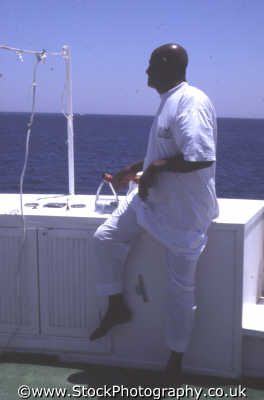 sudanese boat skipper helm marine misc. djalaba red sea egypt pharoh middle east egyptian