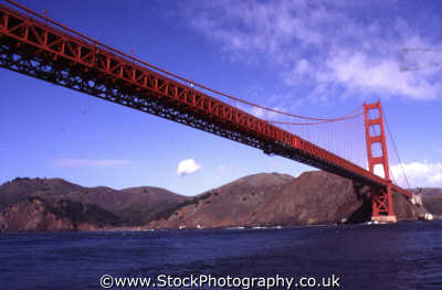 golden gate bridge san francisco california american yankee travel suspension franciscan californian usa united states america