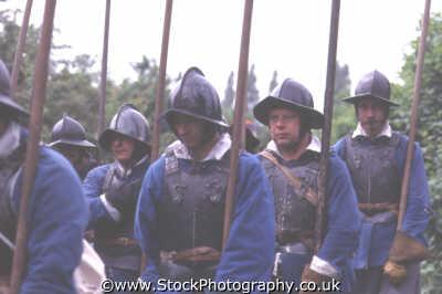 foot soldier infantry pikestaff helmets civil war historical britain history science misc. english enactment middlesex middx england angleterre inghilterra inglaterra united kingdom british