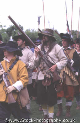 soldiers marching guns civil war historical britain history science misc. english enactment middlesex middx england angleterre inghilterra inglaterra united kingdom british