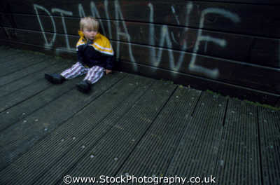 child graffiti wooden bridge matthew boys male males masculine manlike manly manful virile mannish people persons inner city tagging england english angleterre inghilterra inglaterra united kingdom british
