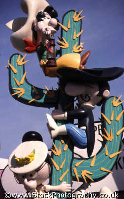 comic mexicans climbing cactus cartoon arts misc. drawing make believe orlando florida usa united states america american
