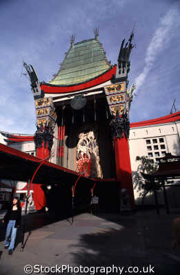 hollywood boulevard mann chinese theatre la los angeles california american yankee travel californian usa united states america