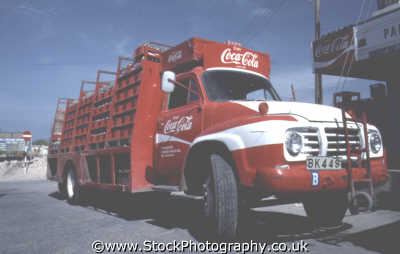 coca cola truck travel real thing coke lorry cyprus europe european cypriot