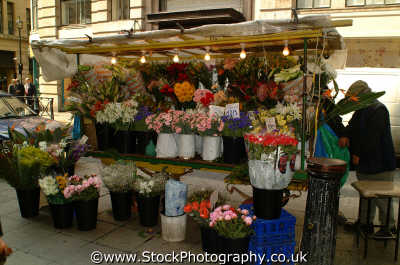 flower stand w1 shops shopping buildings architecture london capital england english uk interflora gesture love romance westminster cockney angleterre inghilterra inglaterra united kingdom british