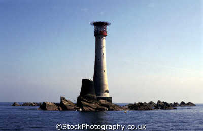 eddystone lighthouse plymouth sound devon british lighthouses unusual buildings strange wierd uk warning safety rocks devonian england english angleterre inghilterra inglaterra united kingdom