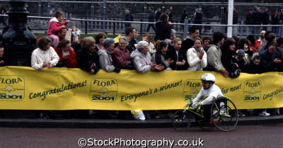 disabled athelete london marathon running jogging athletic events capital england english uk wheelchair disability westminster cockney angleterre inghilterra inglaterra united kingdom british