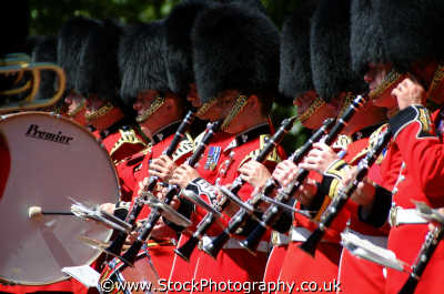 military clarinetists uk militaries drum westminster london cockney england english angleterre inghilterra inglaterra united kingdom british