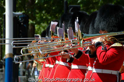 military trombonists close uk militaries trombone westminster london cockney england english angleterre inghilterra inglaterra united kingdom british