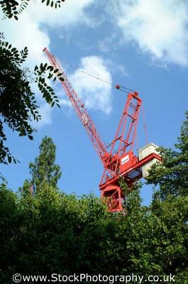 crane construction building industry industrial uk business commerce london cockney england english angleterre inghilterra inglaterra united kingdom british