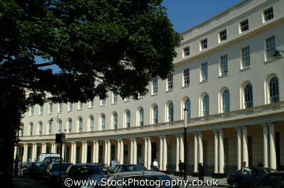 park crescent near regents famous streets london capital england english uk arc curve georgian camden cockney angleterre inghilterra inglaterra united kingdom british
