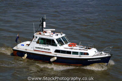 harbour master launch uk emergency services thames westminster london cockney england english angleterre inghilterra inglaterra united kingdom british