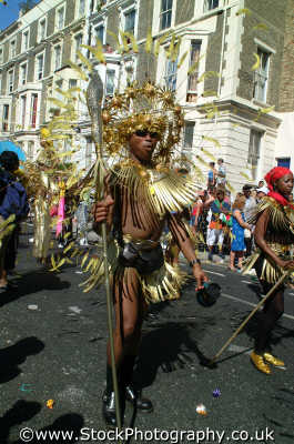 warrior spear notting hill carnival london events capital england english uk agression tribe african black culture street colour color parade celebrate afro carribean party kensington chelsea cockney angleterre inghilterra inglaterra united kingdom british