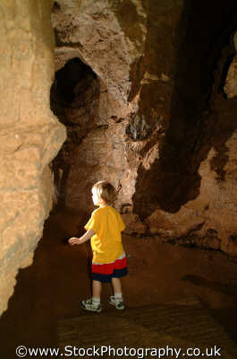 boy exploring cave matthew boys male child males masculine manlike manly manful virile mannish people persons cheddar gorge somerset england english angleterre inghilterra inglaterra united kingdom british