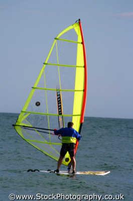windsurfer view yachts yachting sailing sailboats boats marine misc. windsurfing windsurf freedom boardsailing extreme devon devonian england english angleterre inghilterra inglaterra united kingdom british