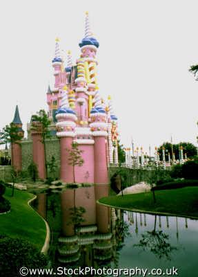 castle disneyland florida american yankee travel fairytale orlando usa united states america