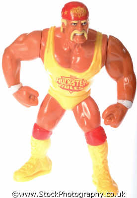 hulk hogan wrestler toy toys play household home abstracts misc. wrestling threaten fight