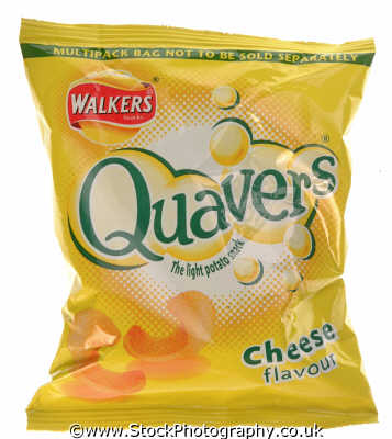 packet walkers cheese quavers food nourishment nutrients abstracts misc. snack snacks chips