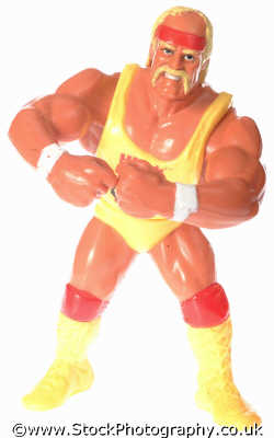 hulk hogan toys play household home abstracts misc. wrestler tough fierce weightlifter fight leotard
