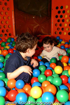 ball pond children infant groups people persons london cockney england english angleterre inghilterra inglaterra united kingdom british
