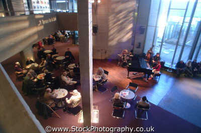 national theatre dinner jazz art creative artistic arts misc. café piano southwark london cockney england english angleterre inghilterra inglaterra united kingdom british