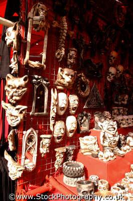 grotesque satanist masks abstracts misc. satan ritual rituals occult worship camden london cockney england english angleterre inghilterra inglaterra united kingdom british