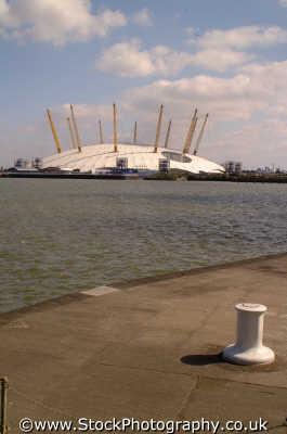 millenium dome west india docks e14 y2k famous sights london capital england english uk greenwich cockney angleterre inghilterra inglaterra united kingdom british