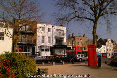 highgate pond sq high street n6 london capital england english uk spring camden cockney angleterre inghilterra inglaterra united kingdom british