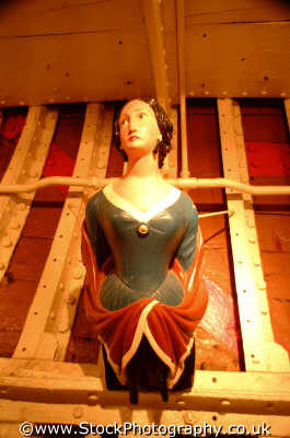 cutty sark figurehead sailing clipper historical britain history science misc. carving carve carved wood wooden greenwich london cockney england english angleterre inghilterra inglaterra united kingdom british