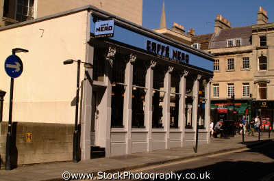 coffee shop bath south west england southwest country english uk wiltshire wilts angleterre inghilterra inglaterra united kingdom british
