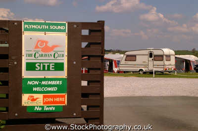 caravan site plymouth devon leisure uk camping devonian england english angleterre inghilterra inglaterra united kingdom british