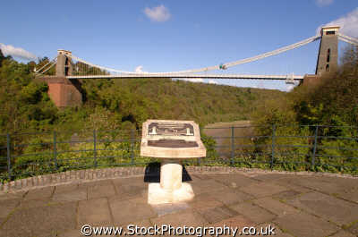 clifton suspension bridge viewing platform bristol uk bridges rivers waterways countryside rural environmental isambard kingdom brunel victorian engineering avon england english angleterre inghilterra inglaterra united british