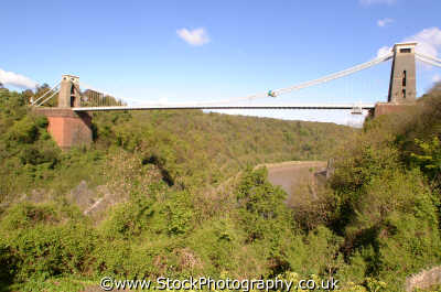 clifton suspension bridge bristol uk bridges rivers waterways countryside rural environmental isambard kingdom brunel toll avon england english angleterre inghilterra inglaterra united british
