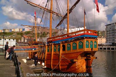 matthew bristol south west england southwest country english uk wooden boat cabot explorer replica sailing avon angleterre inghilterra inglaterra united kingdom british