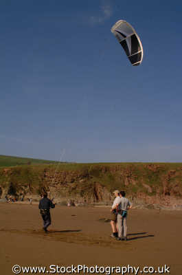 kite surfing watersports aquatic sports sporting uk surfer devon devonian england english angleterre inghilterra inglaterra united kingdom british