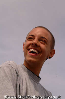 teenage boy smiling boys teenagers adolescent pubescent male child males masculine manlike manly manful virile mannish people persons happy smile glad skinhead jamell devon devonian england english angleterre inghilterra inglaterra united kingdom british