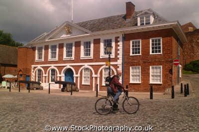 customs house quayside exeter south west england southwest country english uk quay dockside devon devonian angleterre inghilterra inglaterra united kingdom british